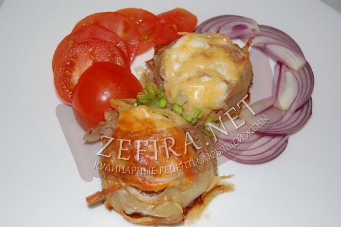 Запеченные в духовке котлеты с картошкой - рецепт и фото