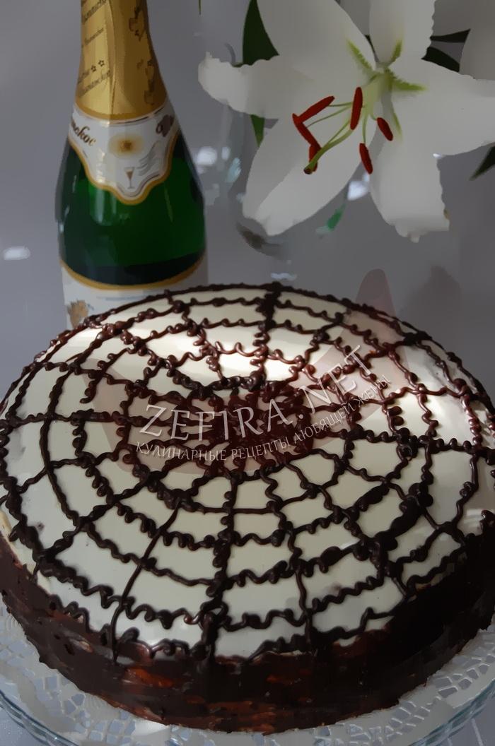Домашний шоколадный торт - рецепт и фото