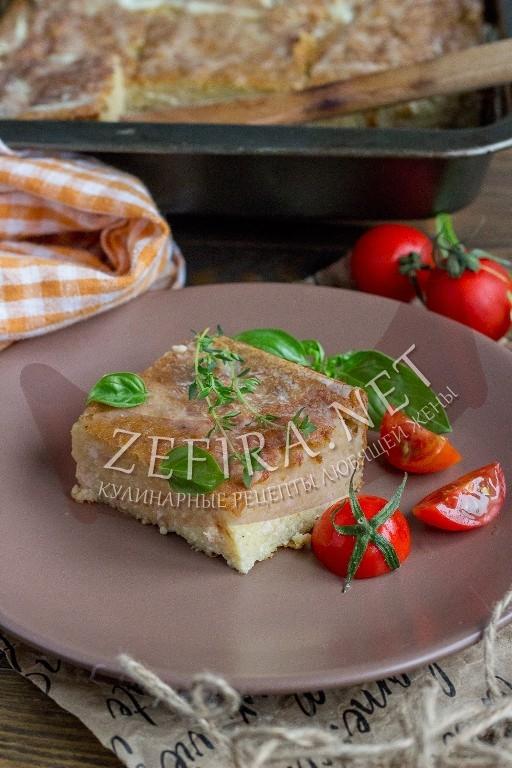 Картофельная бабка с фаршем - рецепт и фото