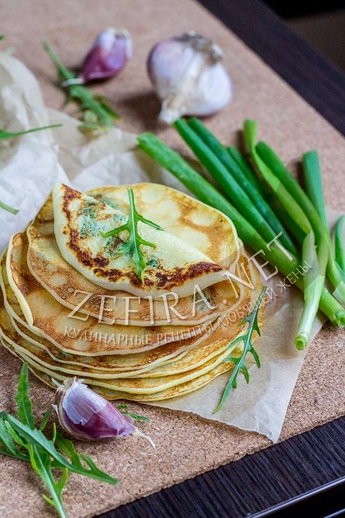 Тонкие картофельные блины - рецепт и фото