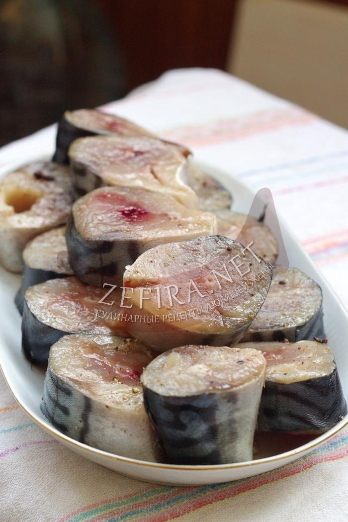 Домашний рецепт соленой скумбрии