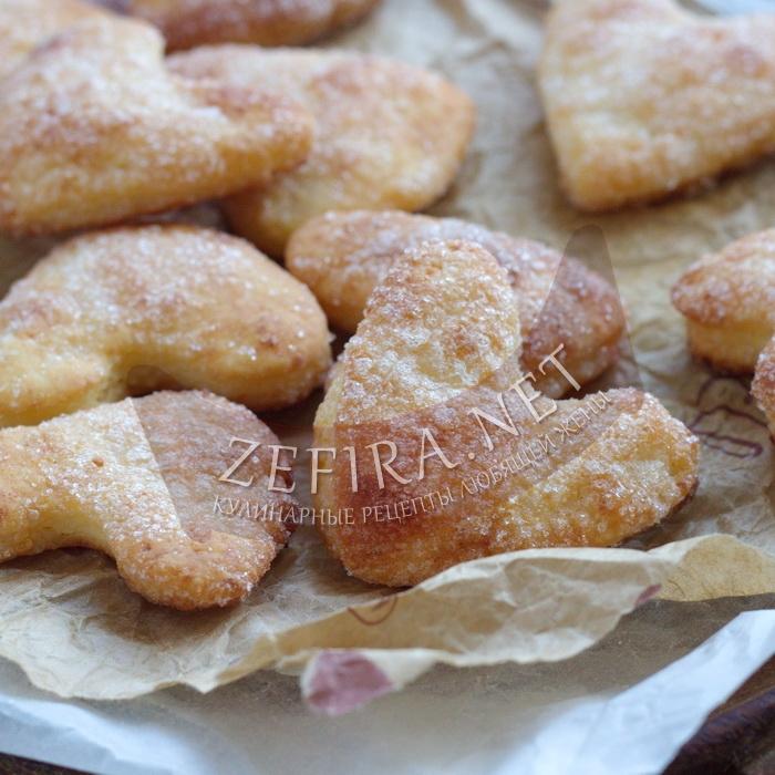 Печенье из творога «Слоеное»