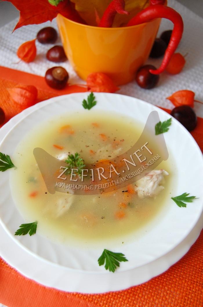 Вкусный рыбный суп с геркулесом - рецепт и фото