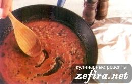 Соус с портвейном и горошинами перца