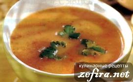 Крем-суп с картофелем и сельдереем