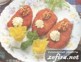 Котлеты-оладьи капустно-морковные