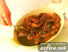 Пряная курица по-китайски