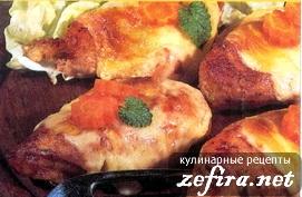 Куриный шницель Марийка