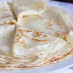 Рецепт приготовления тонких блинчиков — классический