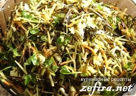 Рецепт салата из морской капусты