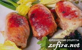 Рецепт куриных рулетиков с начинкой