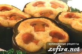 Рецепт перца, фаршированного картофельным пюре