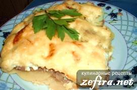 Рецепт картофельной запеканки с мясной начинкой