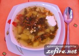Рецепт приготовления щавелевого супа