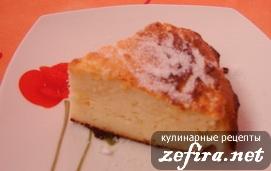 Рецепт творожной запеканки типа «Чиз-кейк»