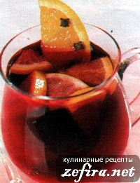 Апельсиновый глинтвейн