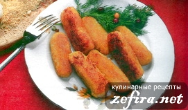 Картофельные палочки с грибами