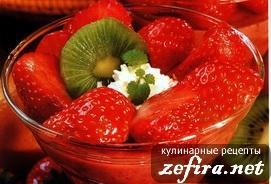 Рецепт клубничного десерта