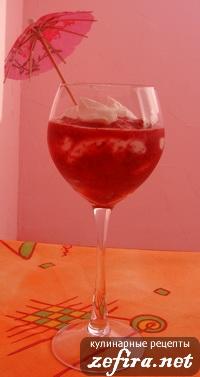 Рецепт творожно-ягодного десерта
