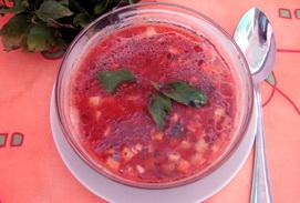 Рецепт супа гаспаччо