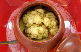 Овощи, тушеные в горшочке