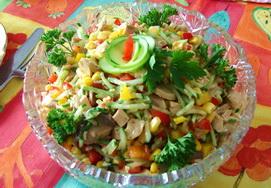 Салат «Овощной восторг»