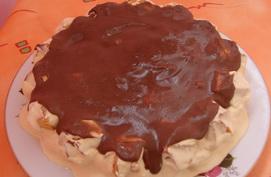 Рецепт быстрого заварного торта «Лентяйка»