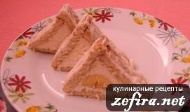 """Торт творожный из печенья """"Домик"""""""