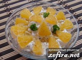 Китайский салатик с апельсином