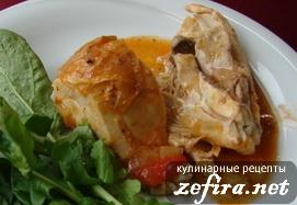 Вкусный рецепт курицы в томатном соусе