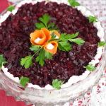 Рецепт салата «Франсуа» с овощами и мясом