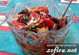 рецепт салата из сыра с опятами