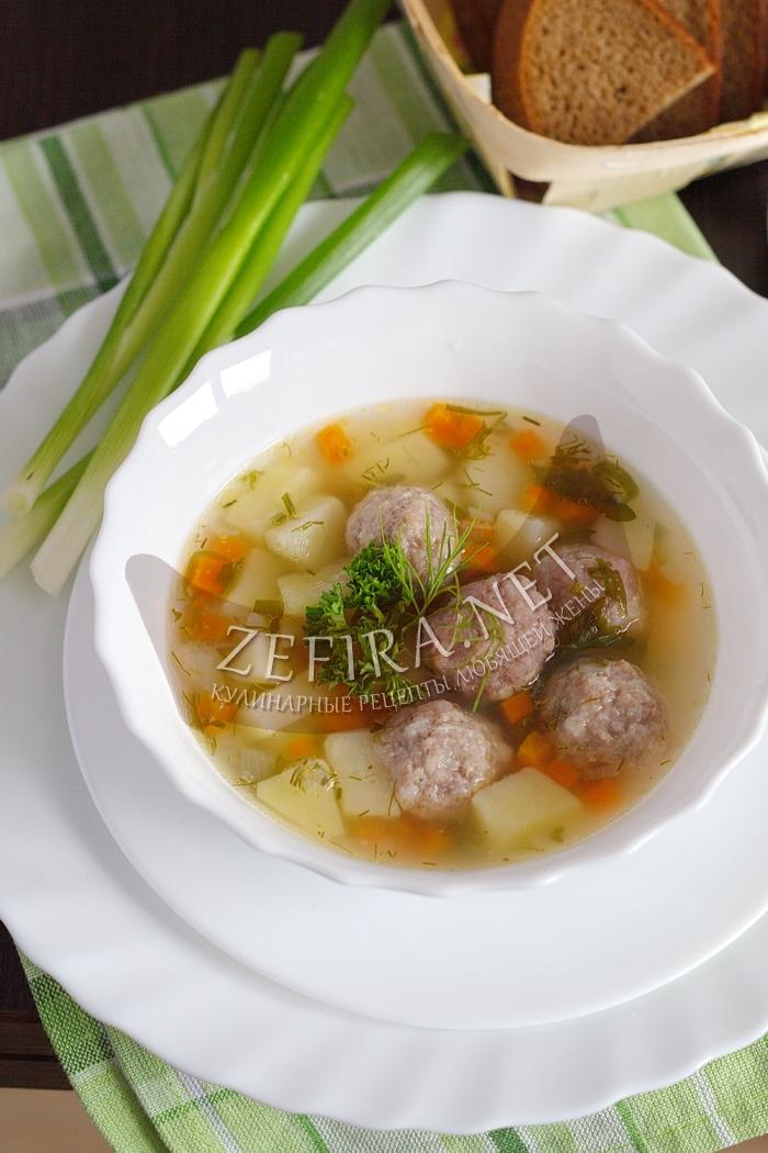 Самый вкусный суп с фрикадельками - рецепт и фото