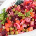 Рецепт приготовления вкусного салата «Винегрет»