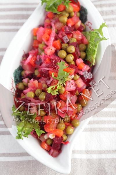 рецепт приготовления салата винегрет