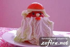 Новогодний Дед Мороз - украшение праздничного стола