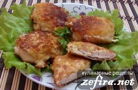 Куриное филе с сырной корочкой