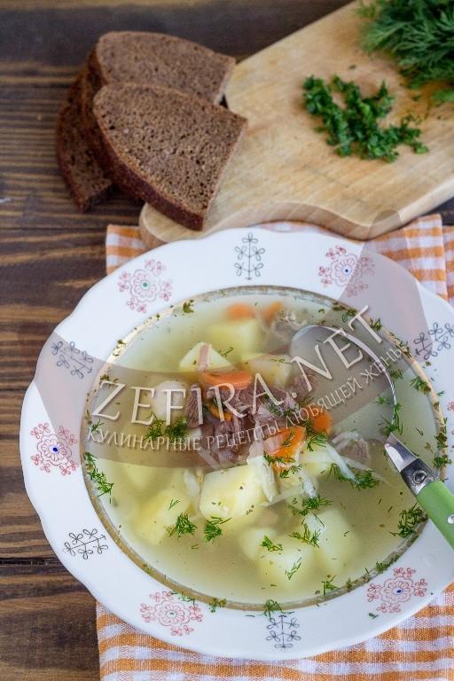 Вкусные щи из квашеной капусты - рецепт и фото
