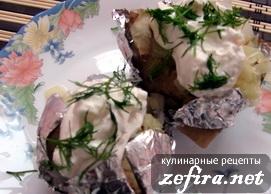 Рецепт картофеля, запеченного в фольге по-домашнему