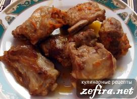 Рецепт свиных ребрышек в маринаде