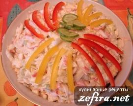 """Салат из крабовых палочек """"Особенный"""""""