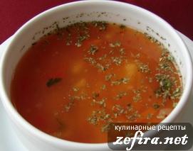 рецепты детских супов с фасолью в