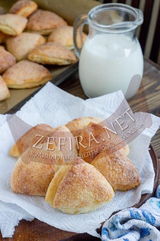 Вкуснейшие творожные треугольники - рецепт и пошаговые фото