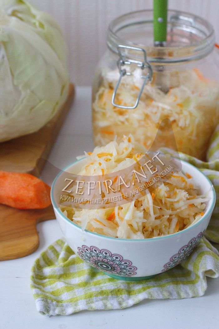 Капуста маринованная «Провансаль» быстрого приготовления - рецепт и фото