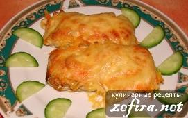 Рецепт вкусного рыбного филе с сыром