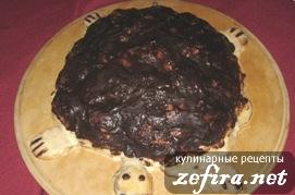 "Рецепт бисквитного торта ""Черепаха"""