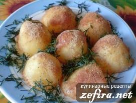 Картофель в золотистой корочке - простой рецепт вкусного гарнира
