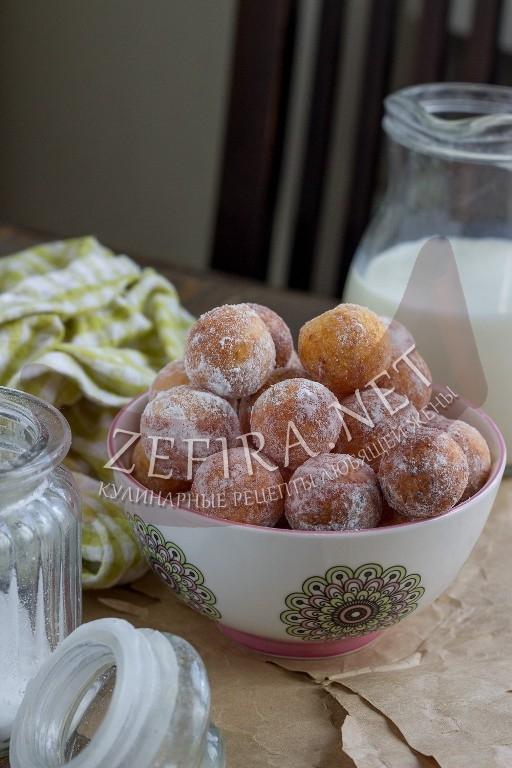 Творожные шарики жареные в масле - рецепт и пошаговые фото