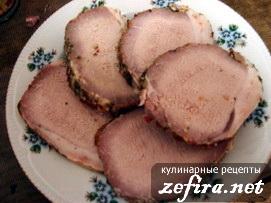 Свиная филейка запеченная