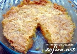 """Рецепт десерта из абрикосов """"Абрикосовый пирог-пудинг"""""""